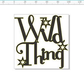 Wild thing 100 x 100  pack of 5